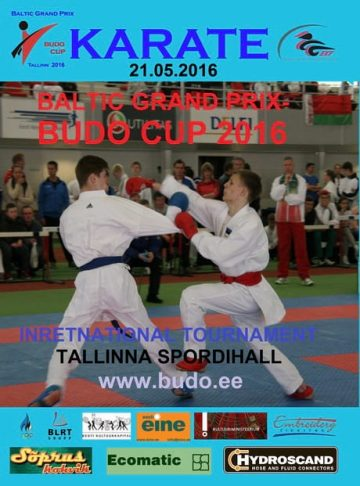 10 Baltic Grand Prix-22 Budo Cup 2016. WKF Rules.