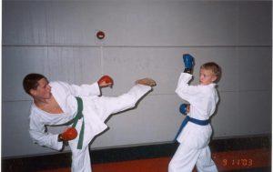 Снимок с тренировки.