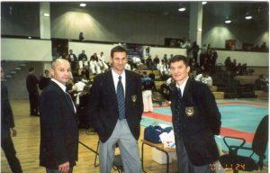 Судейская коллегия. Слева направо: Юрий Лахтиков, Олег Величко, Александр Зыков.