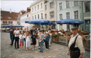 Городской лагерь, экскурсия по центру Таллина