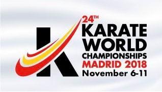 6-11.11. в Мадриде Чемпионат Мира по карате WKF.