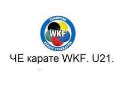 8.-10. 02.2019  Чемпионат Европы по карате WKF. U21